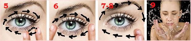 лимфодренажный массаж вокруг глаз 2