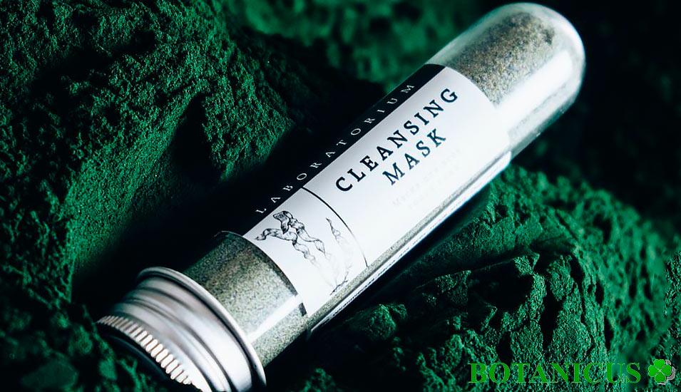 Маска Laboratorium - для лица для всех типов кожи со спирулиной 50 гр